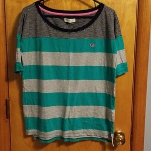 Gilly Hicks Small Striped 1/2 sleeve shirt